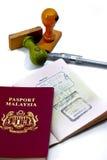 Serie internacional 04 del pasaporte Imagen de archivo libre de regalías