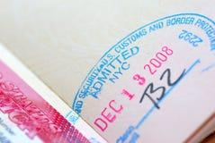 Serie internacional 08 del pasaporte Fotos de archivo libres de regalías