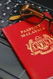 Serie internazionale 07 del passaporto Immagini Stock