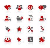 Serie Internet- u. Blog-//-Redico Lizenzfreie Stockbilder