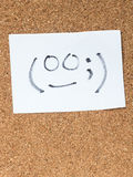 Serie Japońscy emoticons dzwonili Kaomoji, niezręcznego Zdjęcie Royalty Free