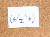 Serie Japońscy emoticons dzwonili Kaomoji, zawartość Zdjęcie Royalty Free