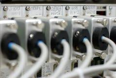 Serie kabelt DOF Lizenzfreie Stockbilder