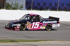 Serie lunga del camion di Johanna NASCAR che qualifica ORP 15 Fotografie Stock Libere da Diritti