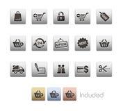 Serie metallica di // di acquisto Immagini Stock Libere da Diritti