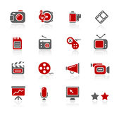 Serie Multimedia-//-Redico Lizenzfreie Stockfotografie