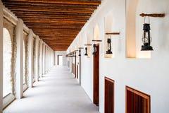 Serie nafty lampy krajobrazowy format z nikt zdjęcie royalty free