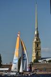 Serie navegante extrema en St Petersburg, Rusia Imagenes de archivo