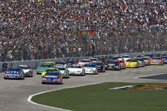 Serie nazionale O'Reilly di NASCAR il 4 aprile 300 immagine stock libera da diritti