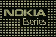 Serie Nokia-E Stockfoto