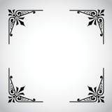 Serie ornamental del marco de la vendimia Fotos de archivo libres de regalías