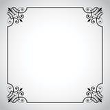 Serie ornamental del marco de la vendimia Foto de archivo