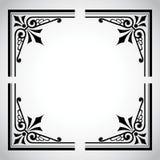 Serie ornamentale del blocco per grafici dell'annata Fotografie Stock Libere da Diritti