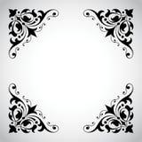 Serie ornamentale del blocco per grafici dell'annata Immagine Stock