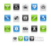 Serie pulita di // di cura della brughiera & della medicina Fotografia Stock Libera da Diritti