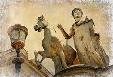 Serie romana antica dei limiti Immagine Stock
