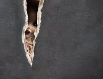 Serie scura - bambola spettrale d'annata Fotografia Stock