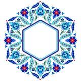 Serie sesenta y ocho del diseño de los adornos del otomano stock de ilustración