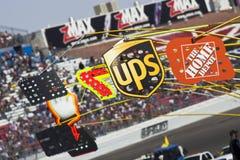 Serie Shelby 427 della tazza dei segnali stradali del pozzo NASCAR Sprint Fotografia Stock