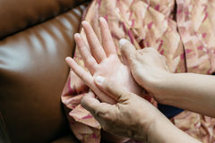 Serie tailandesa del masaje fotografía de archivo libre de regalías