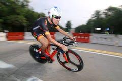 Serie Team Time Trials del camino de la celebración de Singapur Fotos de archivo libres de regalías