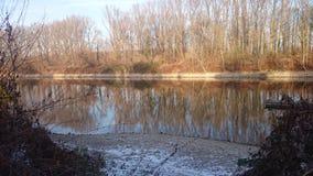 Serie Winterwonderland 3. Winter at the river Stock Photo