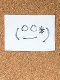Serien av japanska emoticons kallade Kaomoji som ler Royaltyfria Foton