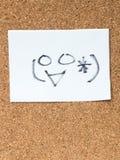 Serien av japanska emoticons kallade Kaomoji som ler Royaltyfri Bild