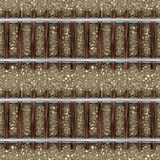 Serien-Gleis auf Stein-nahtlosem Muster Lizenzfreie Stockfotografie