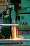 Serienfertigung im Werkzeug Stockbild