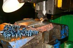 Serienfertigung im Werkzeug Stockfoto