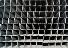 A series of aluminum profile Royalty Free Stock Photo