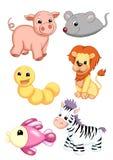 Series of animals 3 royalty free illustration