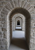 Series of archways Stock Images