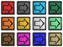 Series of arrows Stock Photo