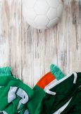 Soccer: Irish Background For International Competition Royalty Free Stock Photos