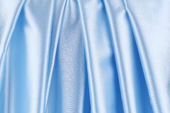 Series in blue satin. Stock Photo