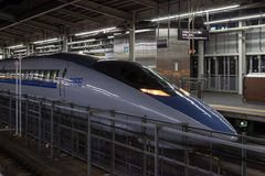 500 Series bullet (High-speed,Shinkansen) train. Stock Photos