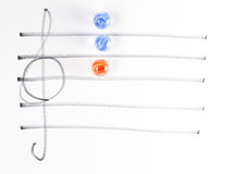The series of chord diagram, C Stock Image