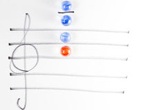 The series of chord diagram, C7 Stock Images