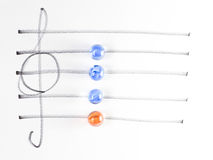 The series of chord diagram, Em7 Royalty Free Stock Photos