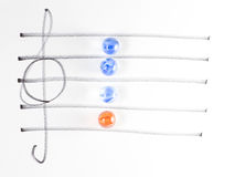 The series of chord diagram, F7 Royalty Free Stock Images