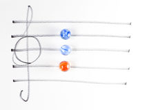 The series of chord diagram, G Royalty Free Stock Photos