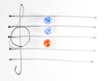 The series of chord diagram, Am Royalty Free Stock Photos