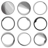 Series of circles. Stock Photography