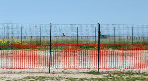 Series of different fences Stock Images