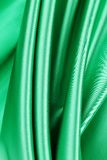 Series in green fabric Stock Image