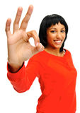 Series of hand gestures Royalty Free Stock Images