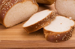 Series of images of kitchen ware. bread Stock Images