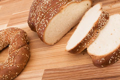 Series of images of kitchen ware. bread Stock Photo